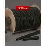 Amb 1621 - Cord Elastic Black By Yard