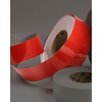 AMB 1622 - Reflective  Red Tape by Yard